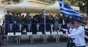 Ο Δάνης Τζαμτζής στην Απελευθέρωση της Έδεσσας: Οφείλουμε τιμή και δόξα στους άξιους προγόνους μας